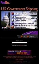 FedEx U.S. Government Shipping