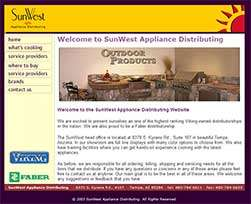 SunWest Appliance Distributing